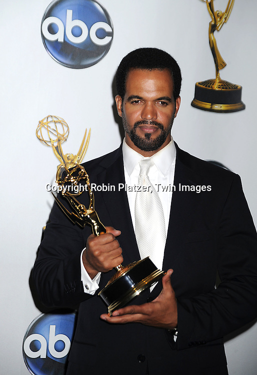 Kristoff St John, Outstanding Supporting Actor in a Drama Series ..at The 35th Annual Daytime Entertainment Emmy Awards at The Kodak Theatre on June 20, 2008 in Hollywood California.....Robin Platzer, Twin Images