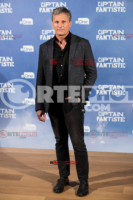 "American actor Viggo Mortensen attends to the presentation of the film ""Captain Fantastic"" at Ursa Hotel in Madrid. September 11, Spain. 2016. (ALTERPHOTOS/BorjaB.Hojas) NORTEPHOTO.COM"