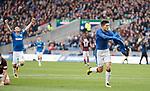 Josh Windass scores for Rangers and celebrates
