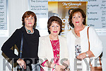 Patricia Barrett, ann O'Keeffe and Pat Collins at the Models in Recovery fashion show on a Tuesday night