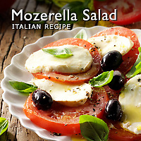 Mozerella Salad | Mozerella Salad Pictures, Photos & Images