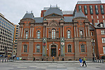 Exterior front of the Renwick Gallery, a branch of the Smithsonian American Art Museum, March morning, Washington DC, USA, (not released) editorial only.