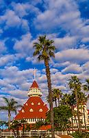 Hotel del Coronado (a beachfront luxury hotel), Coronado Island (San Diego), California USA.