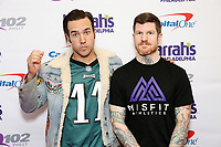 PHILADELPHIA, PA - DECEMBER 6 :  Fall Out Boy pictured back stage at Q102's Jingle Ball at a meet and greet at the Wells Fargo Center in Philadelphia, Pa on December 6, 2017  ***HOUSE COVERAGE Credit: Star Shooter / MediaPunch /nortephoto.com NORTEPHOTOMEXICO
