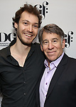 Oliver Houser and Stephen Schwartz attends the 2019 DGF Madge Evans And Sidney Kingsley Awards at The Lambs Club on March 18, 2019 in New York City.