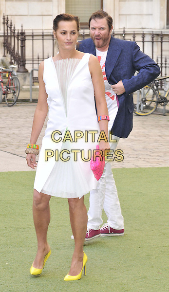 LONDON, ENGLAND - JUNE 04: Yasmin Le Bon &amp; Simon Le Bon attend the Royal Academy Summer Exhibition 2014 VIP preview day, Royal Academy of Arts, Burlington House, Piccadilly, on Wednesday June 04, 2014 in London, England, UK.<br /> CAP/CAN<br /> &copy;Can Nguyen/Capital Pictures