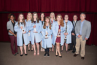 2019 Coating Ceremony Class of 2023 West Virginia group from Left to Right.  Sierra Seay, Delana McCoy, Cassie Barber, Alyssa Lycans, Lakin Bronkar, Amanda Whitman, Kylie Fisher, and Rebecca Roberson.