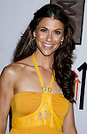 TV Personality Samantha Harris arrives at the launch of Camila Alves 's Handbag Collection MUXO at Kitson Studio on August 7, 2008 in Los Angeles, California.