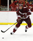 Corbin McPherson (Colgate - 4) - The Harvard University Crimson defeated the visiting Colgate University Raiders 6-2 (2 EN) on Friday, January 28, 2011, at Bright Hockey Center in Cambridge, Massachusetts.