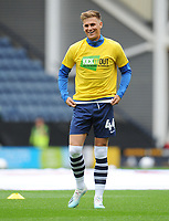 Preston North End's Brad Potts during the pre-match warm-up <br /> <br /> Photographer Kevin Barnes/CameraSport<br /> <br /> The EFL Sky Bet Championship - Preston North End v Barnsley - Saturday 5th October 2019 - Deepdale Stadium - Preston<br /> <br /> World Copyright © 2019 CameraSport. All rights reserved. 43 Linden Ave. Countesthorpe. Leicester. England. LE8 5PG - Tel: +44 (0) 116 277 4147 - admin@camerasport.com - www.camerasport.com