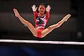 Asuka Teramoto (JPN), OCTOBER 8, 2011 - Artistic Gymnastics : FIG World Championships Tokyo 2011 Artistic Gymnastics Women's Qualification during Uneven bars at Tokyo Metropolitan Gymnasium, Tokyo, Japan. (Photo by Jun Tsukida/AFLO SPORT) [0003]