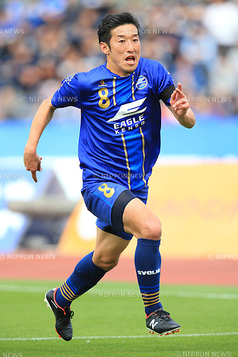 Tatsuya Yazawa (Zelvia), APRIL 23, 2016 - Football /Soccer : 2016 J2 League match between FC Machida Zelvia 1-0 V.Varen Nagasaki at Machida Stadium, Tokyo, Japan.  (Photo by AFLO SPORT)