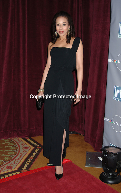 Tamara Tunie ..at The International Radio and Television Society Foundation Gold Medal Award Dinner honoring Jeff Zucker,..CEO of NBC Universal Television Group on March 9, 2006..at The Waldorf Astoria Hotel. ..Robin Platzer, Twin Images