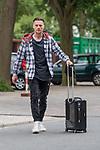 11.05.2018, Weserstadion, Bremen, GER, 1.FBL, Training SV Werder Bremen<br /> <br /> im Bild<br /> Robert Bauer (Werder Bremen #04) mit Koffer / Trolley, <br /> <br /> Foto &copy; nordphoto / Ewert