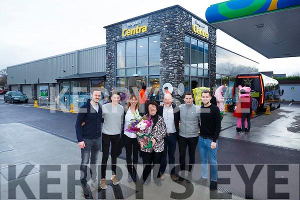 Horgans Centra Ardfert Official Opening Pictured l-r Rory Horgan, Denis Horgan, Norrie Horgan, Bernie Horgan, Brendan Horgan, Fionn Horgan and Colin Horgan