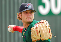 6 May 2007: T.J. Large from a game between the Greenville Drive, Class A affiliate of the Boston Red Sox, and the Augusta GreenJackets at West End Field in Greenville, S.C. Photo by:  Tom Priddy/Four Seam Images