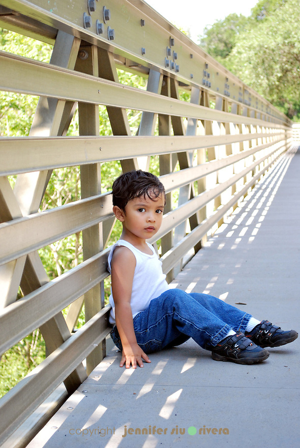 toddler portrait - urban