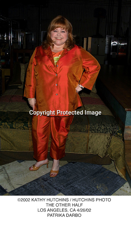 ©2002 KATHY HUTCHINS / HUTCHINS PHOTO.THE OTHER HALF.LOS ANGELES, CA 4/26/02.PATRIKA DARBO