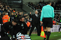 An irate Newcastle United manager Rafa Benítez reacts to a foul on Javi Manquillo of Newcastle United during Newcastle United vs Luton Town, Emirates FA Cup Football at St. James' Park on 6th January 2018