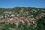 Kakopetria, main  village of the Solea valley