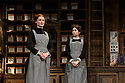 HOBSON's CHOICE, by Harold Brighouse, opens at the Vaudeville theatre in the West End. Directed by Jonathan Church, with lighting design by Tim Mitchell and set & costume design by Simon Higlett. Picture shows: Naomi Frederick (Maggie Hobson), Gabrielle Dempsey (Vicky Hobson)