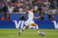 PARIS, FRANCE - JUNE 28: Alex Morgan #13 prior to a 2019 FIFA Women's World Cup France quarter-final match between France and the United States at Parc des Princes on June 28, 2019 in Paris, France.