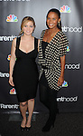 "WEST HOLLYWOOD, CA. - February 22: Erika Christensen and Joy Bryant attend the Los Angeles premiere of ""Parenthood"" at the Directors Guild Theatre on February 22, 2010 in West Hollywood, California."