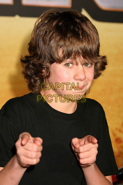"DOMINIC JANES.""Wild Hogs"" Los Angeles Premiere at the El Capitan Theatre, Hollywood, California, USA..February 27th, 2007.headshot portrait hands fingers pointing .CAP/ADM/BP.©Byron Purvis/AdMedia/Capital Pictures"