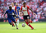 Maria Lemina of Southampton is challenged by Ngolo Kante of Chelsea during the FA cup semi-final match at Wembley Stadium, London. Picture date 22nd April, 2018. Picture credit should read: Robin Parker/Sportimage