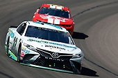 Monster Energy NASCAR Cup Series<br /> TicketGuardian 500<br /> ISM Raceway, Phoenix, AZ USA<br /> Sunday 11 March 2018<br /> Gray Gaulding, BK Racing, Toyota Camry Earthwater<br /> World Copyright: Matthew T. Thacker<br /> NKP / LAT Images