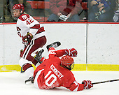 Brendan Rempel (Harvard - 42), Patrick Kennedy (Cornell - 10) - The visiting Cornell University Big Red defeated the Harvard University Crimson 2-1 on Saturday, January 29, 2011, at Bright Hockey Center in Cambridge, Massachusetts.