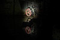 Abandoned russian military barrack. A former secret military city of the GSSD-Troops GDR.<br /> 1.3.2014<br /> Copyright: Christian-Ditsch.de<br /> [Inhaltsveraendernde Manipulation des Fotos nur nach ausdruecklicher Genehmigung des Fotografen. Vereinbarungen ueber Abtretung von Persoenlichkeitsrechten/Model Release der abgebildeten Person/Personen liegen nicht vor. NO MODEL RELEASE! Don't publish without copyright Christian-Ditsch.de, Veroeffentlichung nur mit Fotografennennung, sowie gegen Honorar, MwSt. und Beleg. Konto:, I N G - D i B a, IBAN DE58500105175400192269, BIC INGDDEFFXXX, Kontakt: post@christian-ditsch.de]