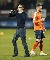 Nathan Jones (Manager) of Luton Town after the Sky Bet League 2 match between Luton Town and Barnet at Kenilworth Road, Luton, England on 31 December 2016. Photo by David Horn.