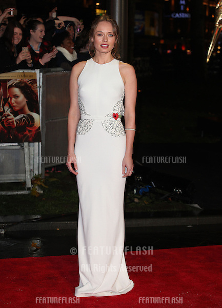 Laura Haddock arriving for The Hunger Games, Catching Fire World Premiere, London Leicester Square. 11/11/2013 Picture by: Alexandra Glen / Featureflash