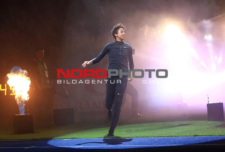 14.02.2020, Mercedes Benz Arena, Berlin, GER, ISTAF-Indoor 2020 Berlin, im Bild <br /> Weitsprung <br /> Malaika Mihambo (GER)<br /> <br />      <br /> Foto © nordphoto / Engler