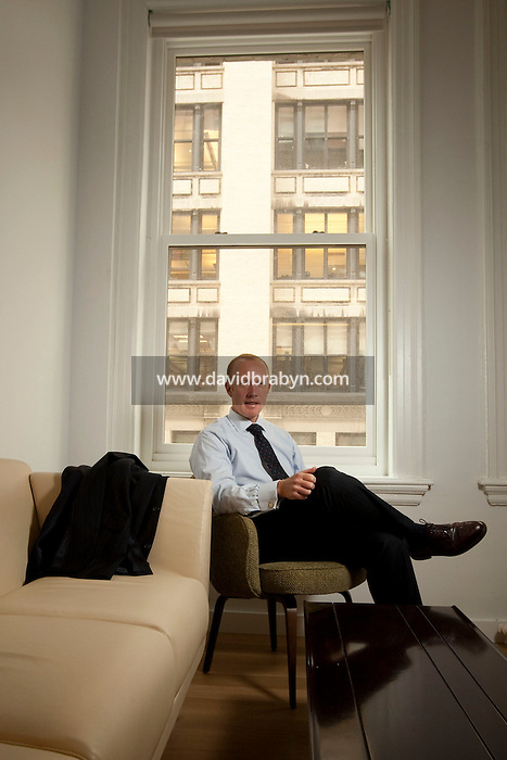 Attorney and Counselor at Law Douglas H. Wigdor poses for the photographer in the offices of his firm Thompson Wigdor and Gilly LLP in New York, USA, 29 April 2009.