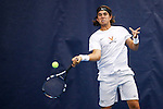 24 MAY 2016:  The Division I Men's Tennis Championship is held at the Michael D. Case Tennis Center on the University of Tulsa campus in Tulsa, OK.  Virginia defeated Oklahoma for the national championship. Shane Bevel/NCAA Photos