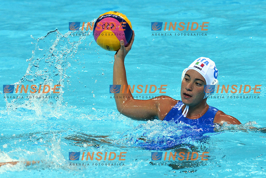 Roberta Bianconi..London 1/8/2012 Water Polo Arena..London 2012 Olympic games - Olimpiadi Londra 2012..Italia Vs Russia..Water Polo - Pallanuoto..Foto Andrea Staccioli Insidefoto