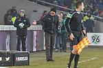 10.02.2018, HDI Arena, Hannover, GER, 1.FBL, Hannover 96 vs SC Freiburg<br /> <br /> im Bild<br /> Christian Streich (Trainer SC Freiburg) in Coachingzone / an Seitenlinie, <br /> <br /> Foto &copy; nordphoto / Ewert