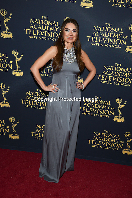 Lilly Melgar attends the Creative Arts Emmy Awards on April 24, 2015 at the Universal l Hilton in Universal City,<br /> California, USA.
