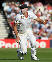 Kevin Pietersen of England - England vs Australia - 1st day of the 5th Investec Ashes Test match at The Kia Oval, London - 21/08/13 - MANDATORY CREDIT: Rob Newell/TGSPHOTO - Self billing applies where appropriate - 0845 094 6026 - contact@tgsphoto.co.uk - NO UNPAID USE