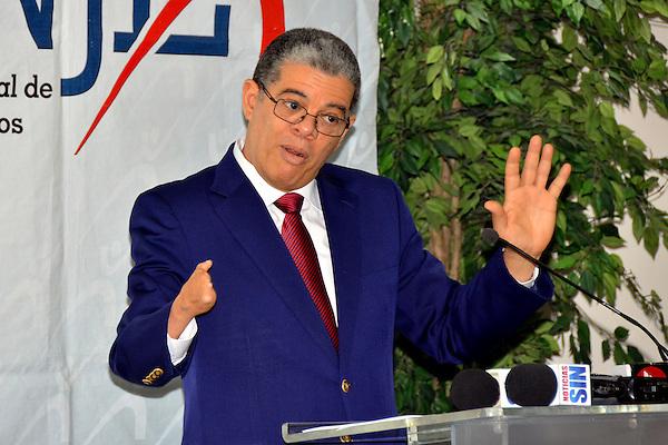 El ministro de Educaci&oacute;n, Carlos Amarente Baret, fue el orador invitado al  desayuno de la Asociaci&oacute;n Nacional de J&oacute;venes Empresarios (ANJE), titulado &ldquo;Retos y avances del sistema educativo dominicano&rdquo;.<br /> Fotos: Carmen Su&aacute;rez/acento.com.do<br /> Fecha:17/09/2014