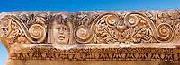 Relief sculpture freeze from the Roman theatre of Myra, Anatolia, Turkey