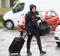 20170725 - TILBURG , NETHERLANDS :  Belgian doctor Elke Van Den Steen pictured going back to Belgium as the Belgian national women's soccer team Red Flames was not able to qualify for the quarter finals after a loss against The Netherlands , on Tuesday 25 July 2017 in Tilburg . The Red Flames finished on 3 th place in Group A at the Women's European Championship 2017 in the Netherlands. PHOTO SPORTPIX.BE | DAVID CATRY