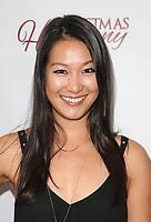 "LOS ANGELES, CA - NOVEMBER 7: Kara Wang, at Premiere of Lifetime's ""Christmas Harmony"" at Harmony Gold Theatre in Los Angeles, California on November 7, 2018. Credit: Faye Sadou/MediaPunch"
