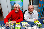 Mike O'Donnell and Brian Fitzgerald of the Kerry Camino at the Live Your Best Life! Mind, Body, Soul EXPO in the Rose Hotel on Sunday.