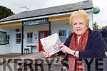 Mary Coughlan with her book Echoes of Dunloe A History