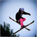 Pix: Shaun Flannery/shaunflanneryphotography.com<br /> <br /> COPYRIGHT PICTURE>>SHAUN FLANNERY>01302-570814>>07778315553>><br /> <br /> 11th July 2015<br /> Halifax Ski Centre<br /> Joe Tyler Coaching Session.<br /> Thea Fenwick