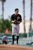 Pittsburgh Pirates pitcher Steven Jennings (27) gets ready to deliver a pitch during a Florida Instructional League game against the Baltimore Orioles on September 22, 2018 at Ed Smith Stadium in Sarasota, Florida.  (Mike Janes/Four Seam Images)