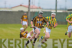 Abbeydorney's Padraig Duignan and Kilmoyley's Paul Geaney..   Copyright Kerry's Eye 2008